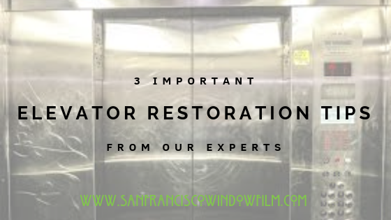 Elevator Restoration Tips San Francisco